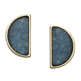 Fossil JF02943710 Ladies' Earrings Half-Moon
