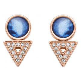 Fossil JF03009791 Ladies' Stud Earrings Geometric Rose