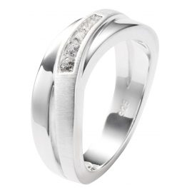 Fossil JF12766040 Ladies Ring Silver