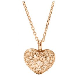 Fossil JF01156791 Valentine Hearts Ladies Necklace