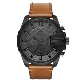 Diesel DZ4463 Herrenchronograph Mega Chief Black IP