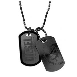 Diesel DX0014040 Dog Tag Herrenkette