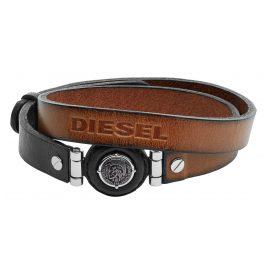 Diesel DX1021040 Leder Herrenarmband Leather Specs