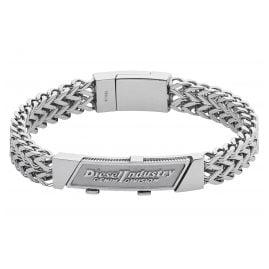 Diesel DX1033040 Mens Bracelet Tabbed Coin