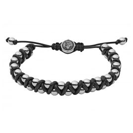 Diesel DX1109040 Leather Mens Bracelet