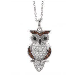 Viventy 780882 Ladies' Necklace Owl
