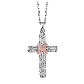 Viventy 780612 Silver Cross Pendant Ladies' Necklace
