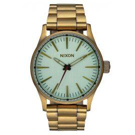 Nixon A450 2230 Sentry 38 SS Brass / Green Armbanduhr
