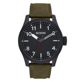 Nixon A975 1032 Safari Leather Black/Surplus Herrenuhr