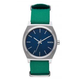 Nixon A045 742 Time Teller Armbanduhr Navy/Grün
