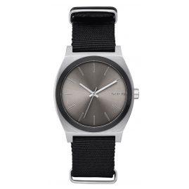 Nixon A045 2454 Time Teller Armbanduhr Gunmetal/Schwarz