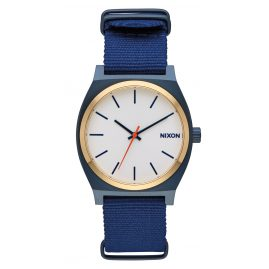Nixon A045 2452 Time Teller Watch Blue/Gold/White