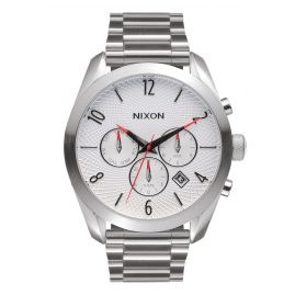 Nixon A366 100 The Bullet White Herrenuhr