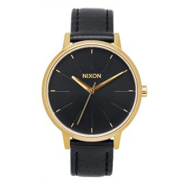 Nixon A108 513 Kensington Leather Gold/Black Damenuhr