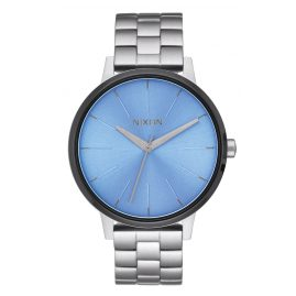 Nixon A099 2363 Kensington Silver/Sky Blue Ladies Watch