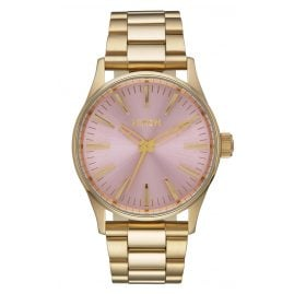Nixon A450 2360 Sentry 38 SS Gold/Pink Damenuhr