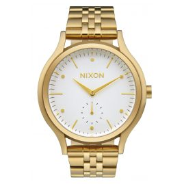 Nixon A994 508 Sala Gold/White Ladies Watch
