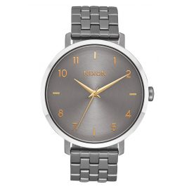 Nixon A1090 2765 Damenuhr Arrow Gunmetal