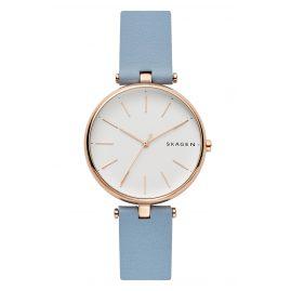 Skagen SKW2711 Damen-Armbanduhr Signatur T-Bar hellblau