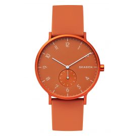 Skagen SKW6511 Herrenuhr Aaren Orange