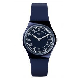 Swatch GN254 Wrist Watch in Unisex Size Blue Ben