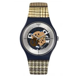 Swatch SUON129 Herrenuhr Watch my Fabric