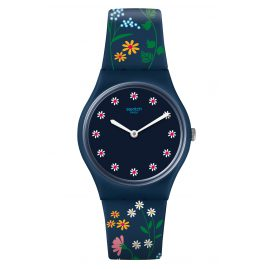 Swatch GN256 Damenarmbanduhr Flower Carpet