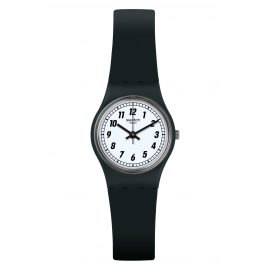 Swatch LB184 Damenuhr Something Black