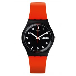 Swatch GB754 Armbanduhr Red Grin