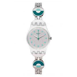 Swatch LK377G Damen-Armabanduhr Blue Pastel