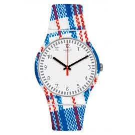 Swatch SUOZ258C Damenuhr Tartanotto
