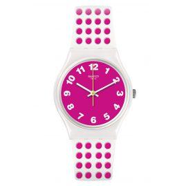 Swatch GW190 Damenarmbanduhr Pinkdots