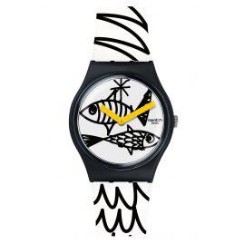 Swatch GB303 Damen-Armbanduhr Pesciolini