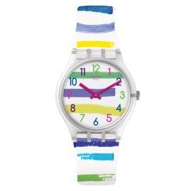 Swatch GE254 Ladies Watch Colorland