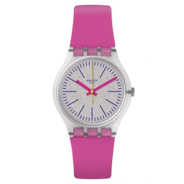 Swatch GE256 Ladies Watch Fluo Pinky