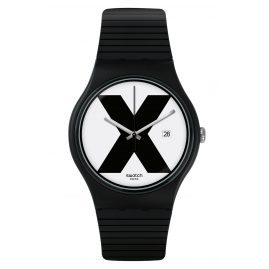 Swatch SUOB402 Armbanduhr XX-Rated Black