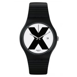 Swatch SUOB402 Wrist Watch XX-Rated Black