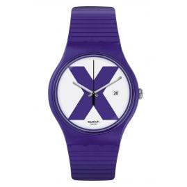 Swatch SUOV401 Wrist Watch XX-Rated Purple