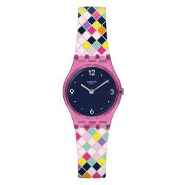 Swatch LP153 Armbanduhr für Mädchen Squarolor