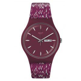Swatch SUOV705 Armbanduhr Trico'Purp