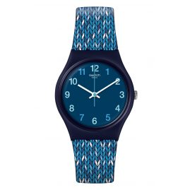 Swatch GN259 Damenuhr Trico'Blue