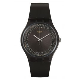 Swatch SUOB156 Damenuhr Darksparkles