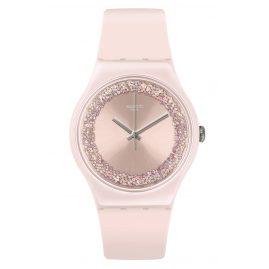 Swatch SUOP110 Ladies' Wristwatch Pinksparkles
