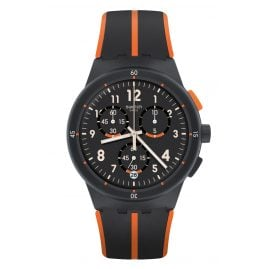 Swatch SUSA402 Herrenuhr Chronograph Laseray