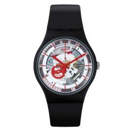 Swatch SUOB153 Wristwatch Siliblack