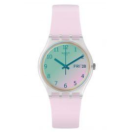 Swatch GE714 Armbanduhr Ultrarose