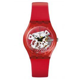 Swatch GR178 Damenarmbanduhr Rosso Bianco