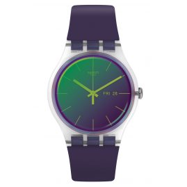 Swatch SUOK712 Wristwatch Polapurple