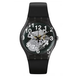 Swatch SUOK135 Herrenarmbanduhr Black Board