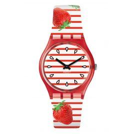 Swatch GR177 Armbanduhr Toile Fraisee